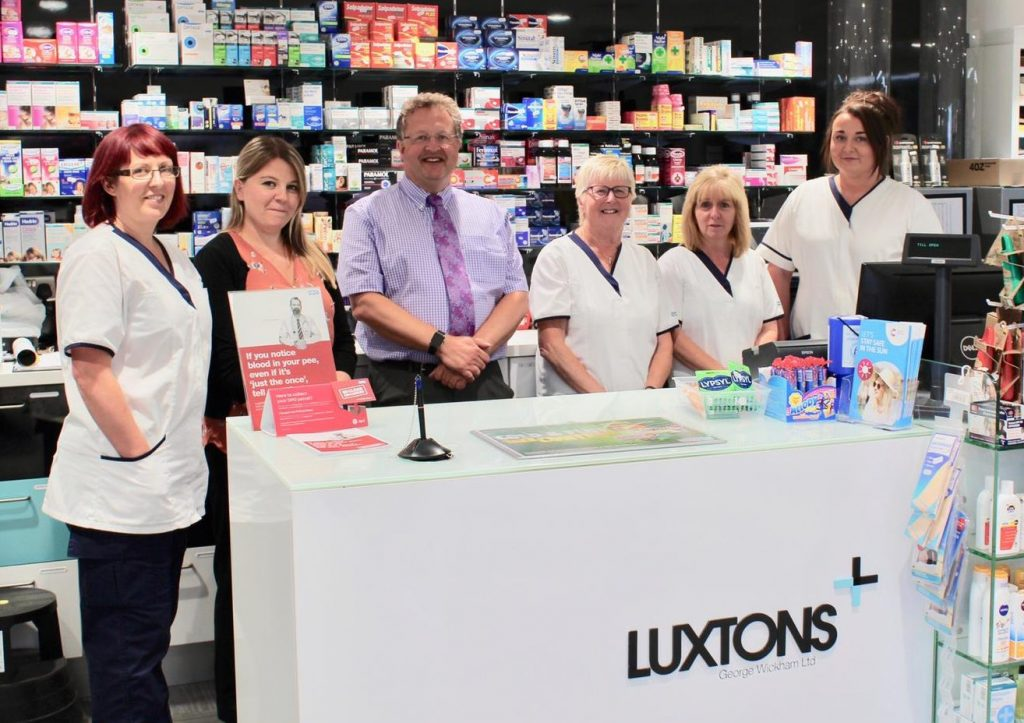 luxtons pharmacy exeter